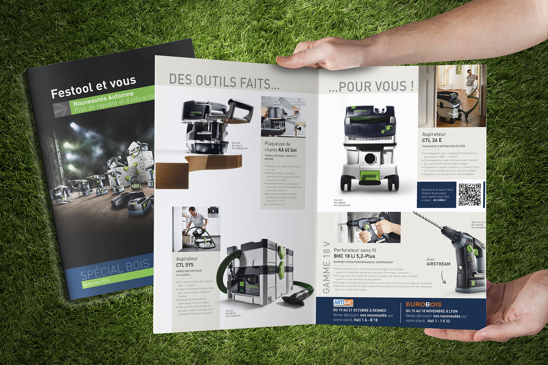 Outil Festool catalogue by CONVERGENCE