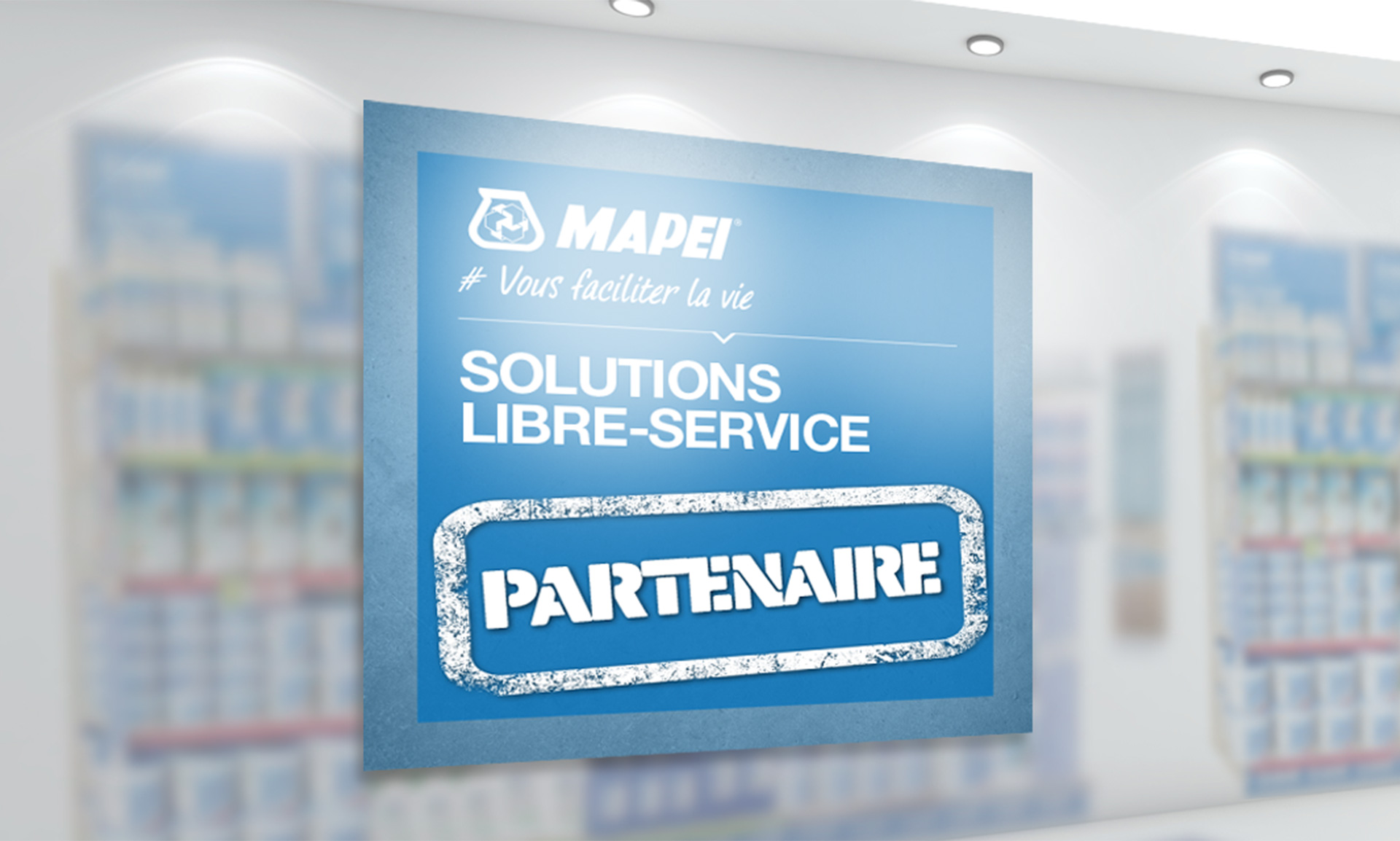 Solution Libre-service MAPEI by Convergence